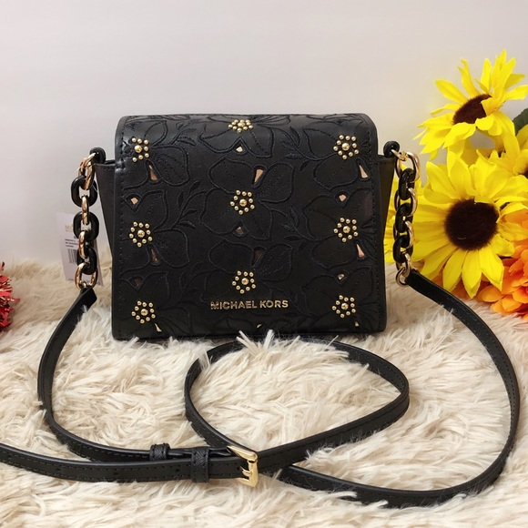 c8ef4256cd1091 Michael Kors Bags | Nwt Small Sofia Crossbody Bag Black | Poshmark